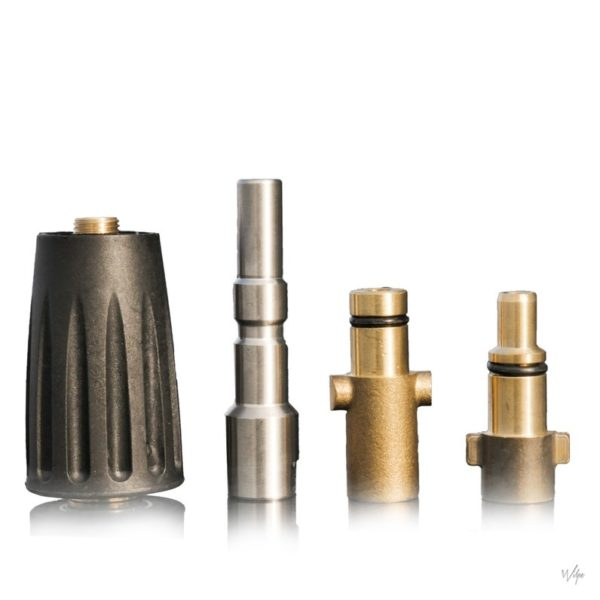 Nilfisk Snelkoppelingen Set (Nilfisk G 1/4 Adapter ,1/4 Female Stainless QC Nilfisk adapter, Nilfisk Kew Adapter, Nilfisk Gerni)